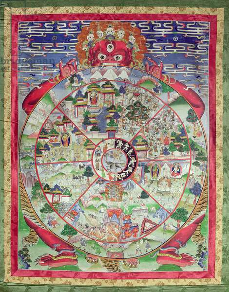 Dharmachakra, Wheel of Transmigratory Existence (paper)