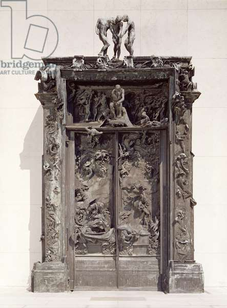 Gates of Hell, c.1890 (bronze)