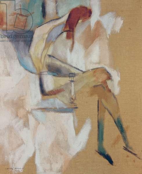 Apropos de Jeune Soeur, 1911 (oil on canvas)