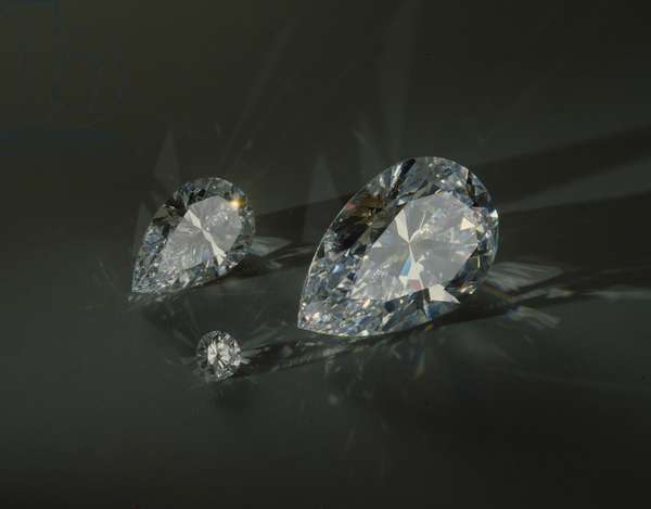 Cut diamonds (photo)