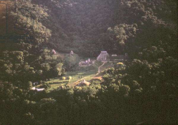 Aerial view of the ruins (photo)