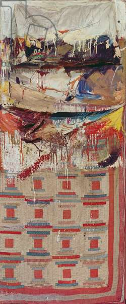 The Bed, 1955 (mixed media)