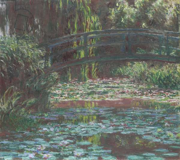 Water Lily Pond, 1900 (oil on canvas)
