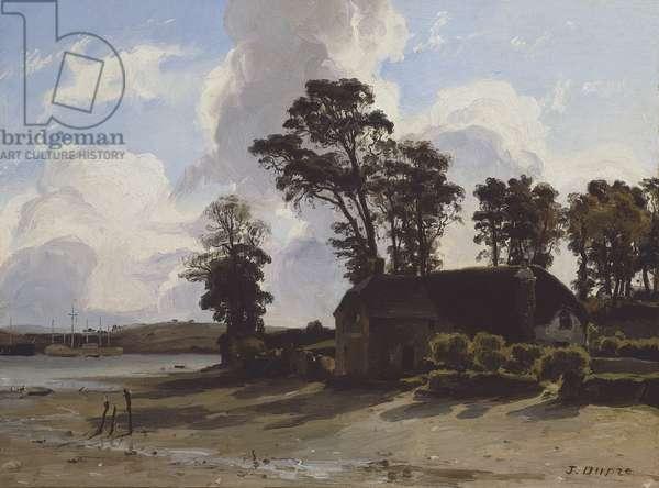 The Estuary Farm, 1830-35 (oil on canvas)