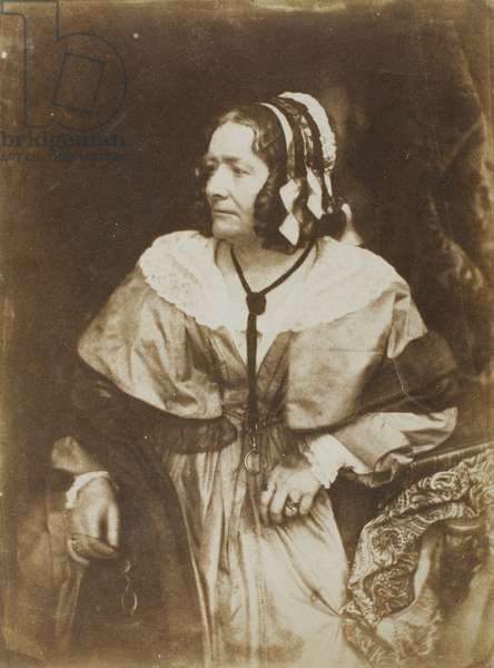 Mrs. Anna Brownell Jameson, 1844 (salted paper print)
