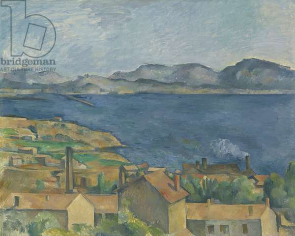 The Bay of Marseille, Seen from L'Estaque, c.1885 (oil on canvas)