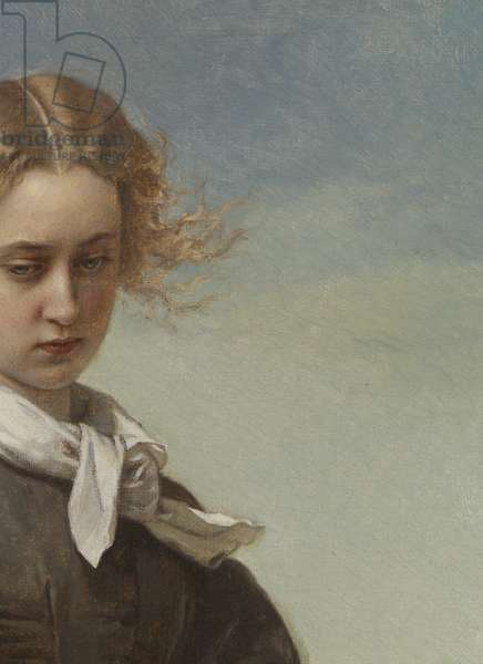 Love's Melancholy, 1866 (oil on canvas) (detail)