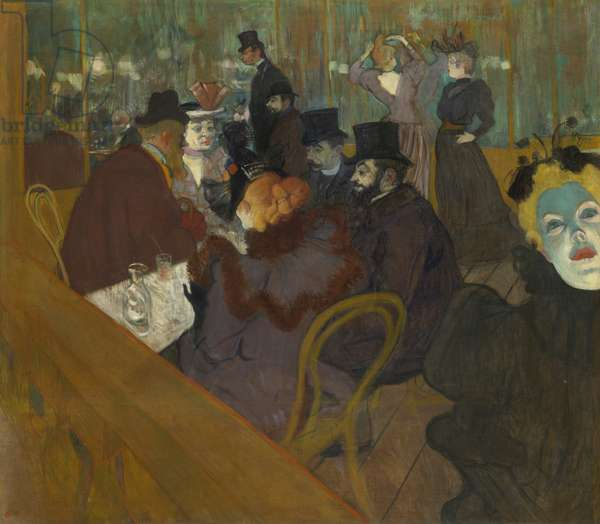 At the Moulin Rouge, 1892-95 (oil on canvas)