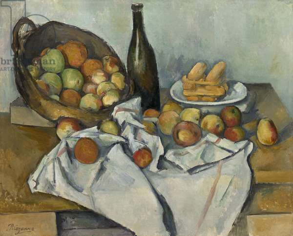 The Basket of Apples, c.1893 (oil on canvas)