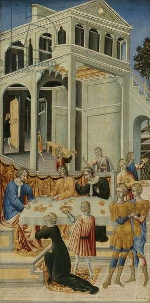 Salome Asking Herod for the Head of Saint John the Baptist, 1455-60 (tempera on panel)
