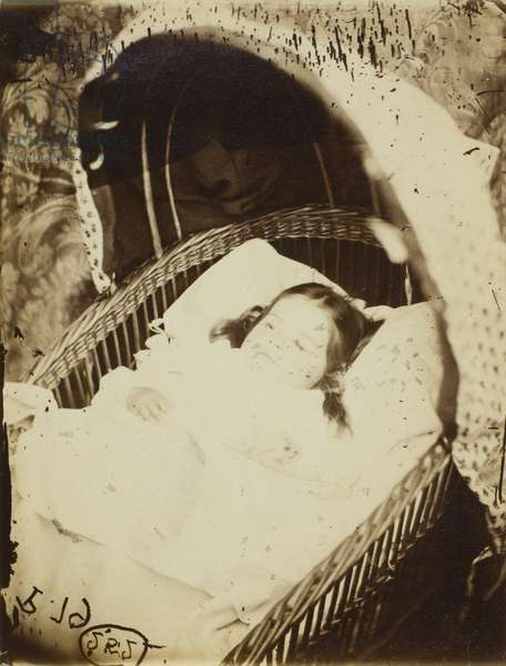 Untitled (possibly Alice Gertrude Langton Clarke), 1864 (albumen print)
