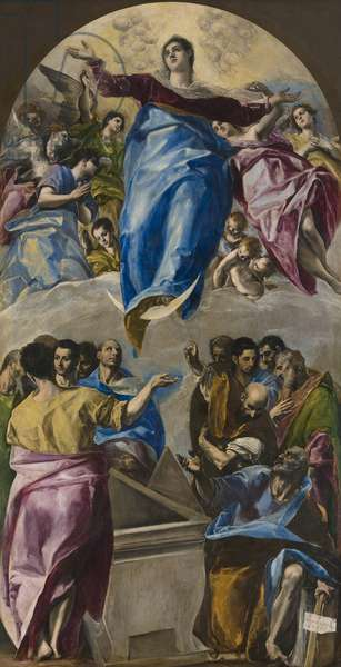 The Assumption of the Virgin, 1577-79 (oil on canvas)