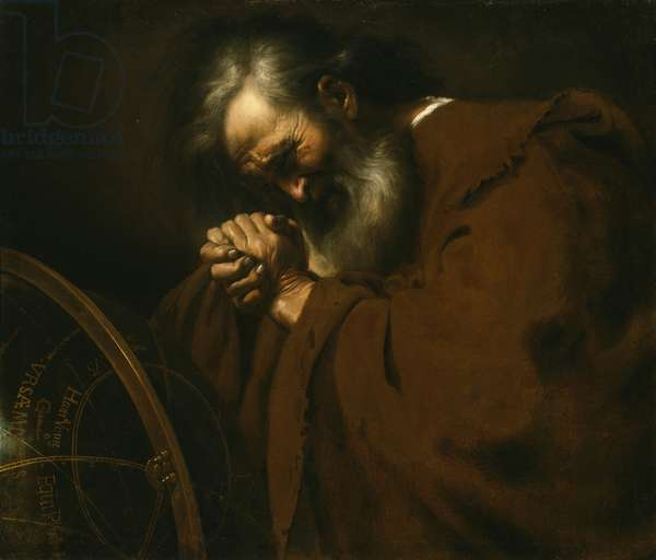 Heraclitus, the Weeping Philosopher, c.1630 (oil on canvas)