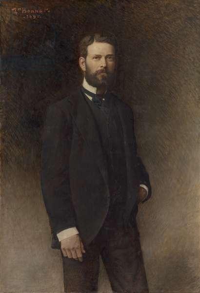 Portrait of Henry Field, 1896 (oil on canvas)