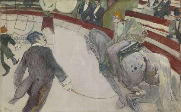 Equestrienne (At the Cirque Fernando), 1887-88 (oil on canvas)