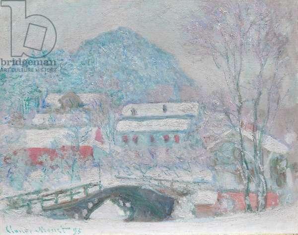 Sandvika, Norway, 1895 (oil on canvas)