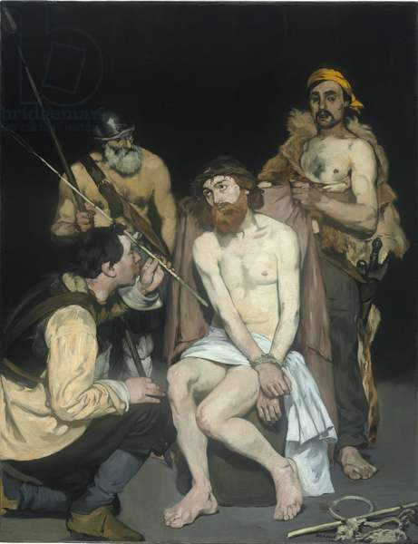 Jesus Mocked by the Soldiers, 1865 (oil on canvas)