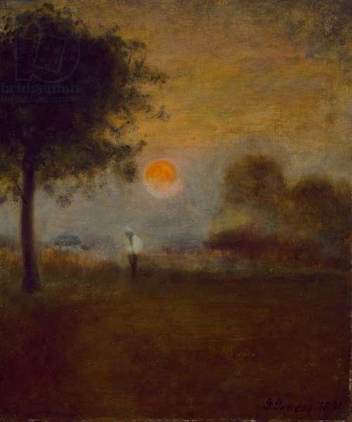 Moonrise, 1891 (oil on canvas)