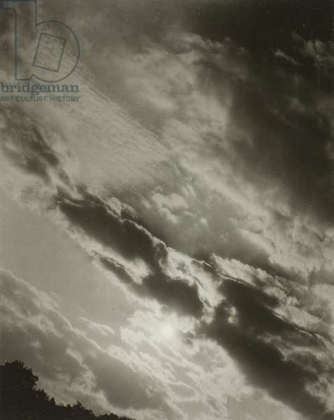 Songs of the Sky A3, 1923 (gelatin silver print)