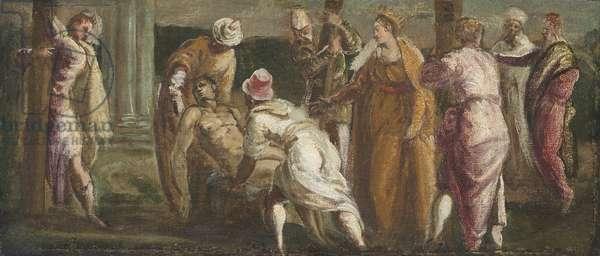 Saint Helen Testing the True Cross, c.1545 (oil on canvas)
