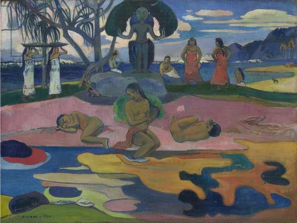 Day of the God (Mahana no Atua) 1894 (oil on canvas)