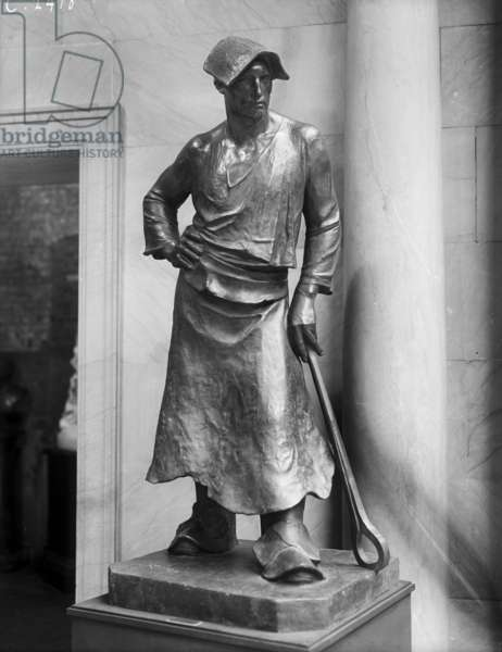 The Hammerman, 1884 (bronze)