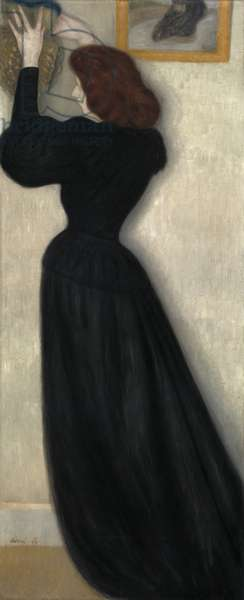 Slender Woman with Vase, 1894 (oil on canvas)