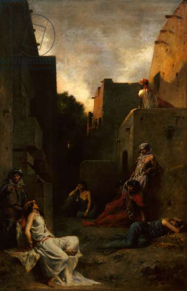 Women of the Ouled Nayls, 1867 (oil on canvas)