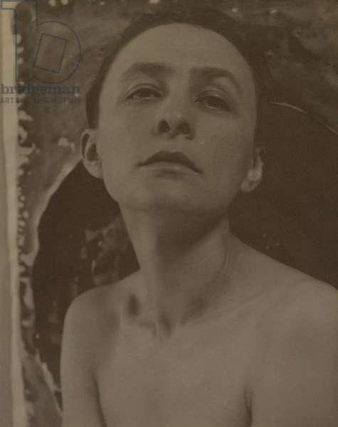 Georgia O'Keeffe, 1919-21  (palladium print)