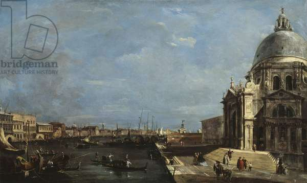The Grand Canal, Venice, c.1760 (oil on canvas)