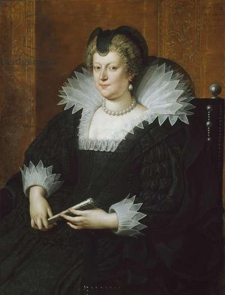 Marie de Médicis, 1616 (oil on canvas)