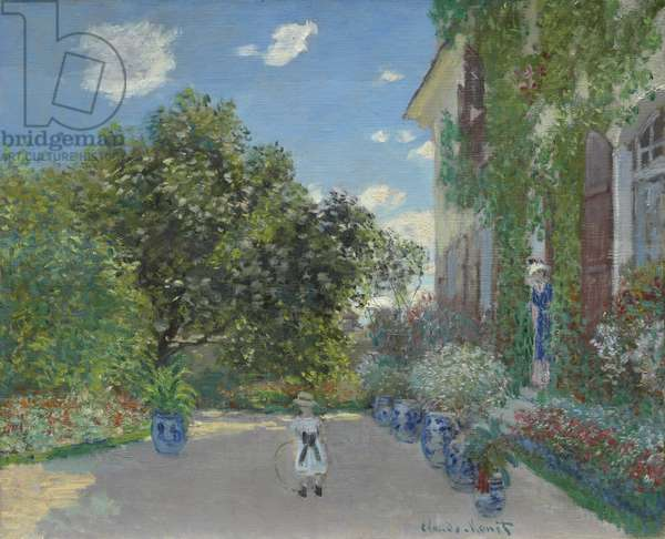 The Artist's House at Argenteuil, 1873 (oil on canvas)