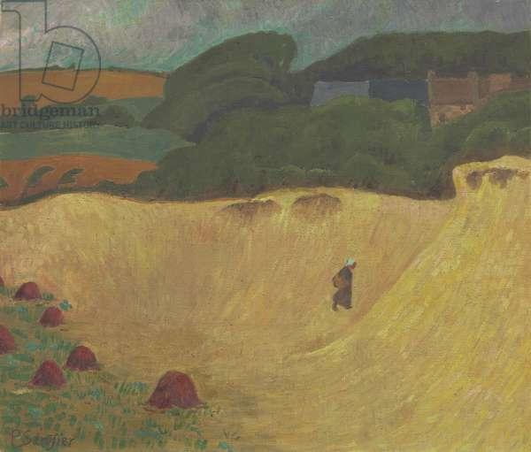 The Beach of Les Grands Sables at Le Pouldu, 1890 (oil on canvas)