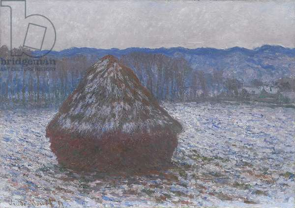 Stack of Wheat, 1890-91 (oil on canvas)