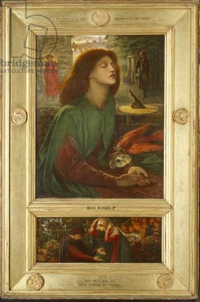 Beata Beatrix, 1871-72 (oil on canvas)