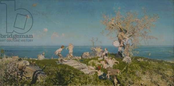 Springtime and Love, 1878 (oil on canvas)