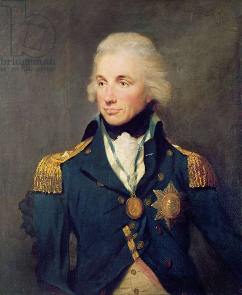 Portrait of Horatio Nelson (1758-1805), Viscount Nelson, 1797 (oil on canvas)