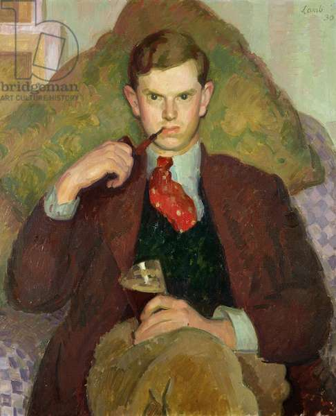 Portrait of Evelyn Waugh, 1930 (oil on canvas)