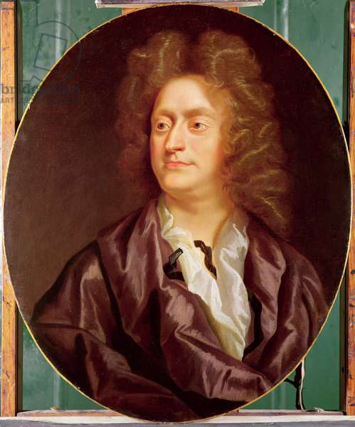 Portrait of Henry Purcell, 1695 (oil on canvas)