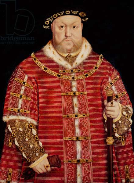 Portrait of Henry VIII (oil on panel)