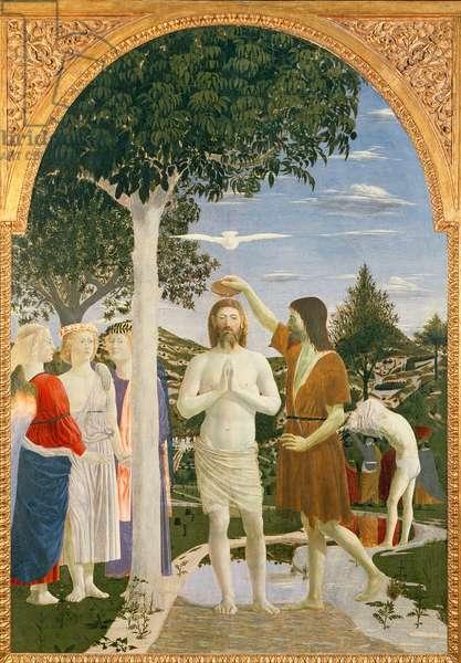 Baptism of Christ, 1450 (egg tempera on panel)