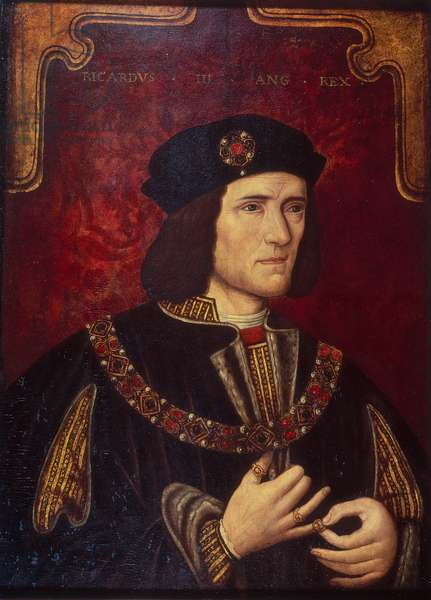Portrait of King Richard III (oil on panel)