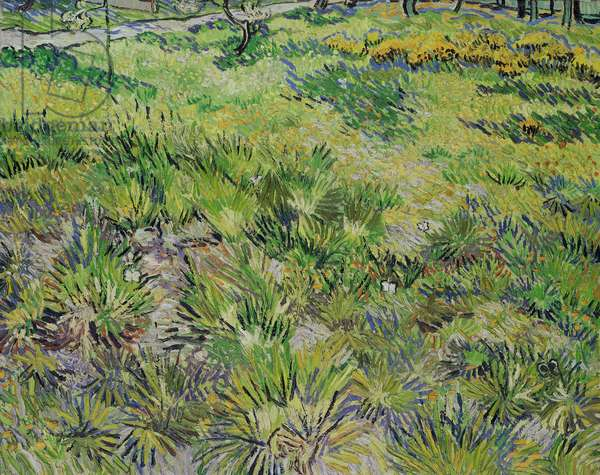 Long Grass with Butterflies, 1890 (oil on canvas)