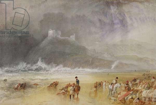 Criccieth Castle, North Wales, c.1835 (watercolour)