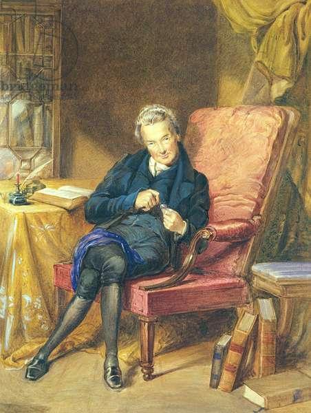 Portrait of William Wilberforce (1759-1833) 1833 (w/c on paper)