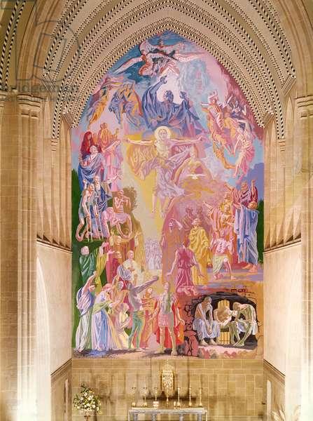 East Wall Mural, c.1966 (fresco)