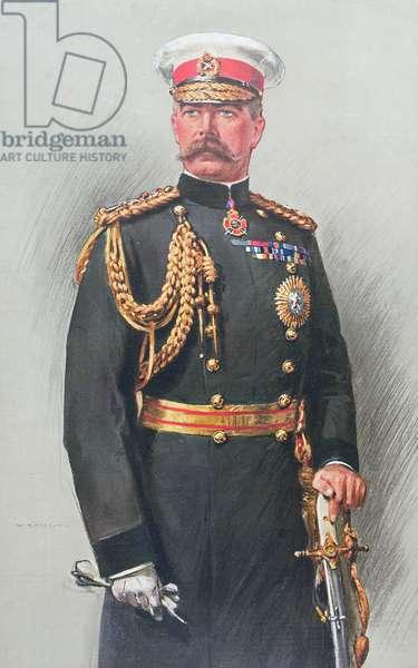 Viscount Kitchener of Khartoum (colour engraving)