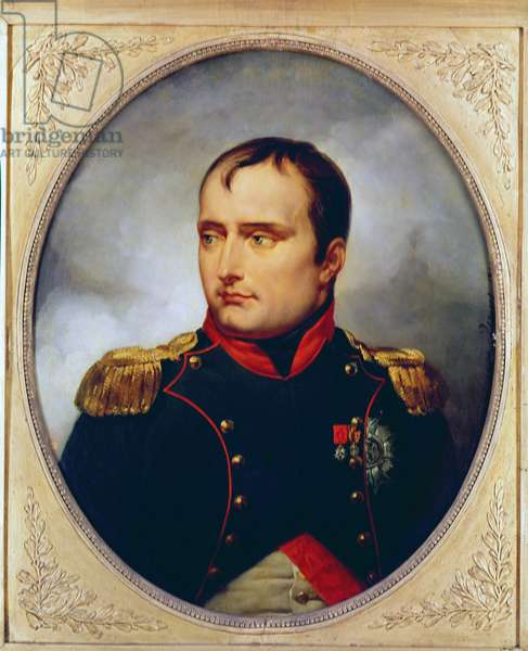 Portrait of Napoleon I (1769-1821), 1815 (oil on canvas)