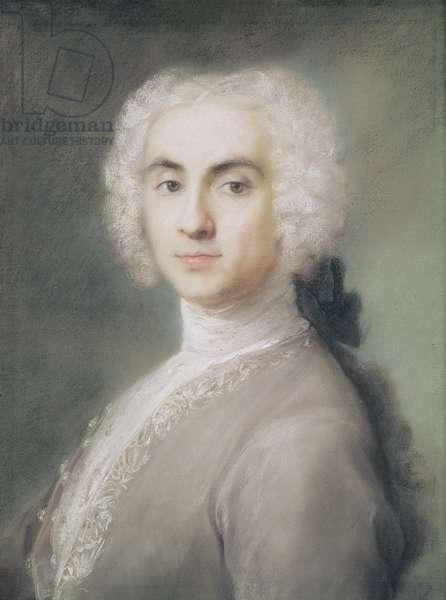 Portrait of a Man (pastel on paper)