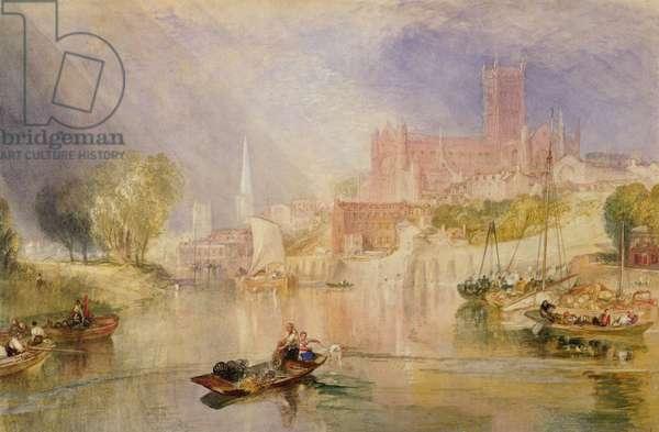 Worcester, c.1833 (watercolour)
